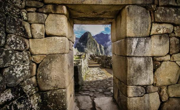 A 'solstice window' at Machu Picchu. (Uwe Bergwitz / Adobe stock)