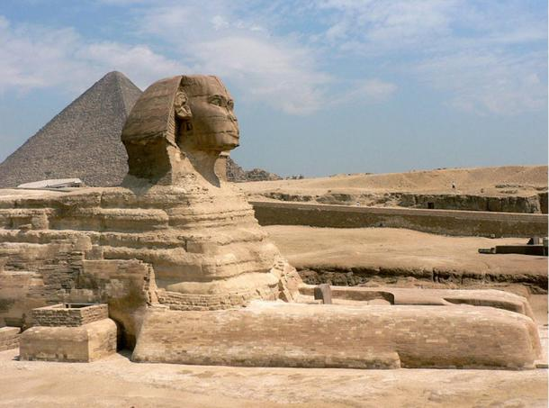Fig 5. The Sphinx of Giza, Egypt.