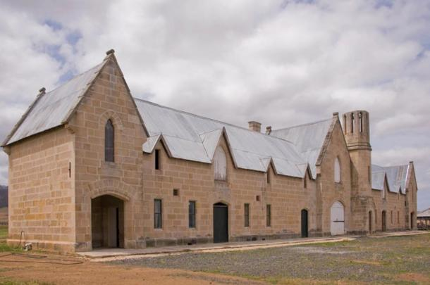 The stables at Shene, Tasmania. Ian Evans,