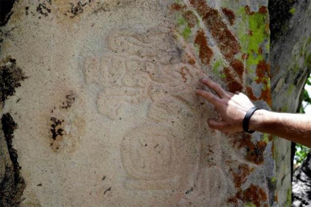 Two stelae that have panels of engravings, as well as a number of smaller stones with carvings, have been found at Zapotec ruins. (The Yucatan Times)