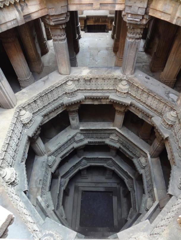 Featured image: A beautiful step well in Ahmedabad, India; like many others it has gone dry because the water table is even lower now than when it was constructed many years ago.