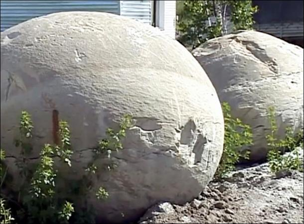 The mysterious stone balls of Siberia