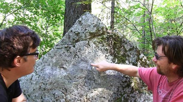 """Mysterious stone carvings hidden in the wilderness of the Castle Crags region could prove to be a clue in solving the mystery of J.C. Brown."""