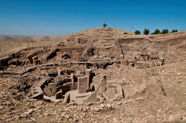 Several stone circles 'temples' found at the southern excavation site at Gobekli Tepe