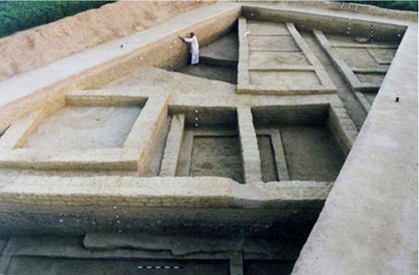 Some of the structures at Rakhigarhi