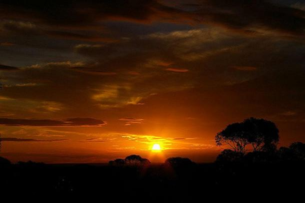 Sunset, Maralinga, Australia