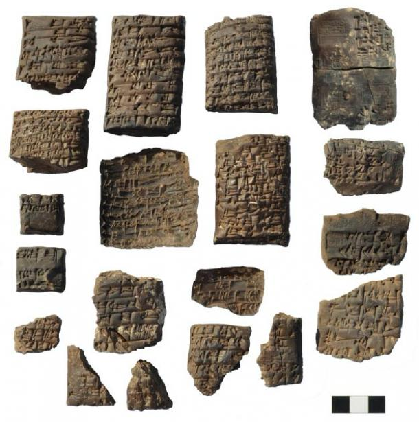 The tablets are inscribed with cuneiform and are in great condition. (Universita di Pisa)
