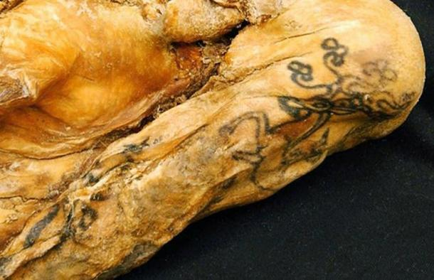 The Princess of Ukok has the best preserved ancient tattoos.
