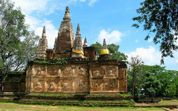 The temple of Wat Chet Yot, Chiang Mai, Thailand