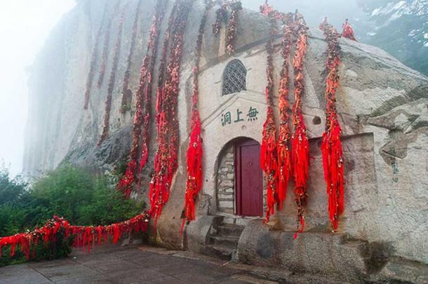 A temple on Huashan.