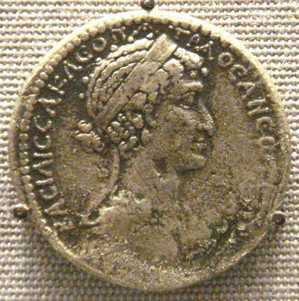 A tetradrachm of Cleopatra VII, Syria mint.