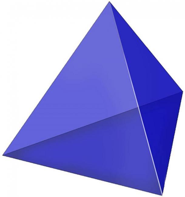A tetrahedron