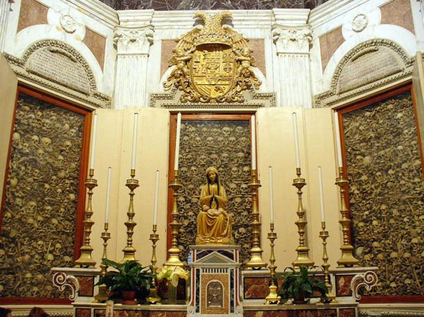 Keeping bones of the deceased was even more common in Europe through at least the 18th century AD than in prehistoric California, as can be seen in the skulls of 'the Martyrs of Otranto' in Otranto Cathedral, Italy.