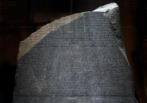 The Rosetta Stone. (Peter Thoeny/CC BY NC SA 2.0)