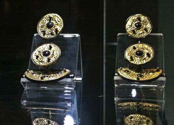 Some of the fibula from the exhibition in Gdańsk, Poland.