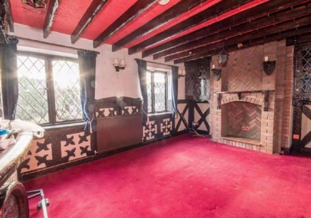 The medieval style sitting room. Credit: Cavendish Residential Ruthin / rightmove