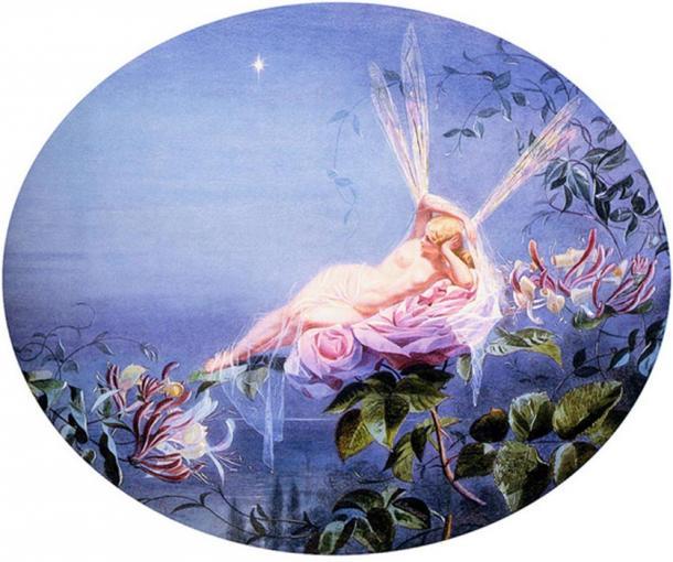 'The Evening Star' John Simmons (British, 1823-1876).