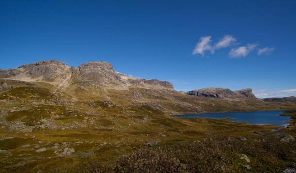 Goran Olsen was walking in the mountains of Haukeli when he stumbled upon the old Viking sword
