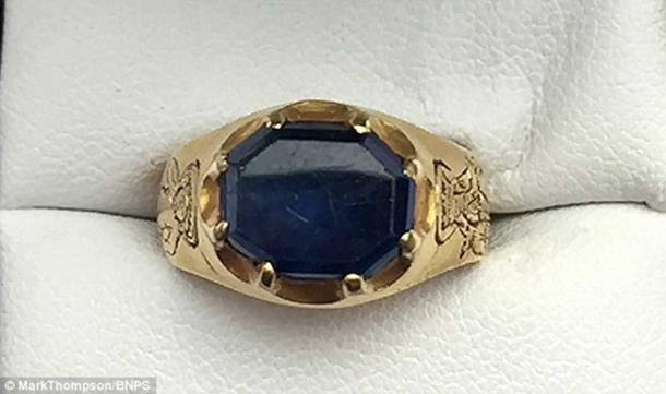 The British Museum is analyzing the ring and may declare it to be national treasure, though the finder would collect any reward.
