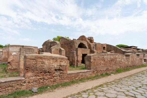 The Roman road to Ostia Antica began at the Tiber. (Ioannis Syrigos)