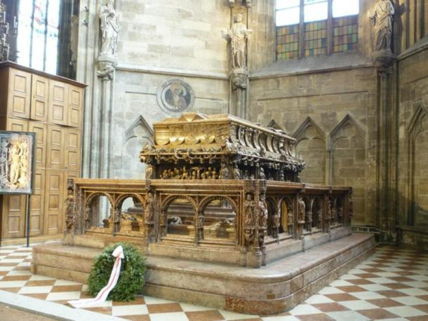 The tomb of Frederick III is an artistic funerary monument. (Uoaei1 / CC BY-SA 3.0)