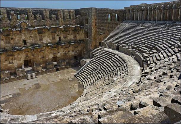 The theater at Aspendos, Turkey.