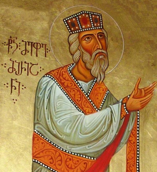 The king, Mirian III, converts to Christianity. (Jaqeli / CC BY-SA 4.0)