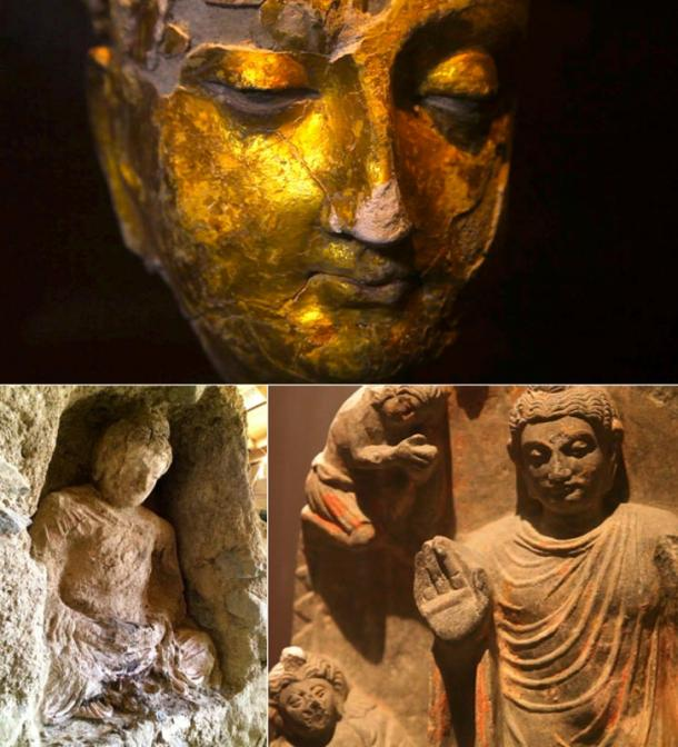 Some of the thousands of treasures recovered from Mes Aynak.