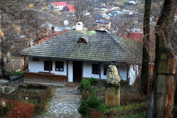 Ion Creangă's Bojdeuca (tiny hut) in Iaşi, Romania.