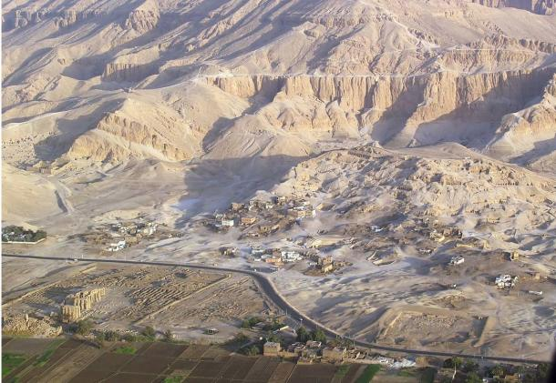 The newly-discovered tomb was found in the Valley of the Nobles