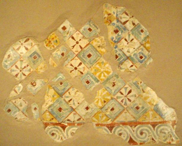 Painted ceiling decoration from the tomb of Senenmut (SAE 71)