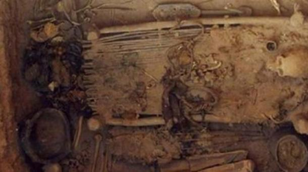 The tomb of the Chinese shaman where the oldest package of marijuana in history was found