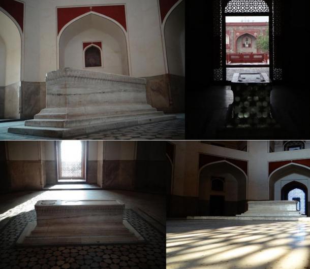 The actual tomb site where Humayun lies buried. Photos by: Jyotsnav, 2013.