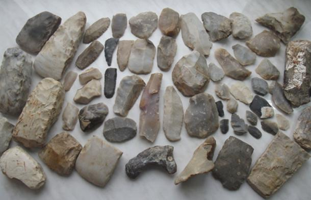 Sometimes our ancestors used the same kind of stone tools with no improvements for millennia.