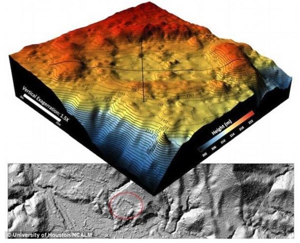 topological map in Honduras - Arqueólogos encuentran ruinas intactas en su búsqueda de la ciudad perdida del Dios Mono