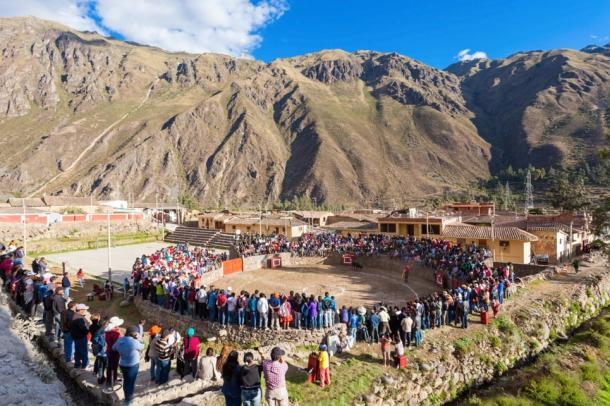 Some 6000 tourists who visit Machu Picchu every day