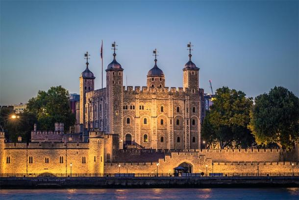 The Tower of London, where Eleanor's son James was held prisoner until his death in 1601. (rpbmedia / Adobe stock)