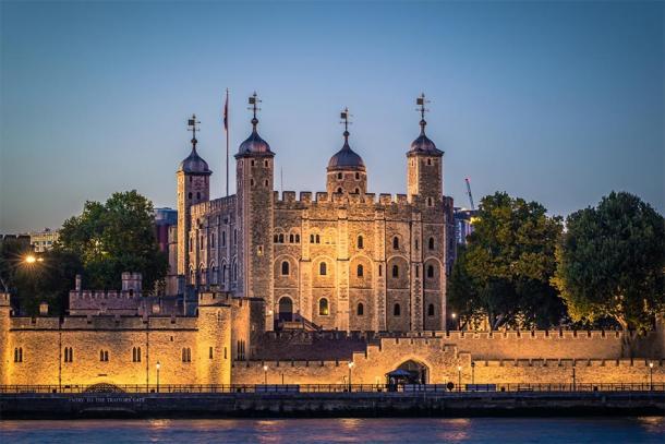 The Tower of London, where Eleanor's son James was held prisoner until his death in 1601. (rpbmedia / Adobe stock)