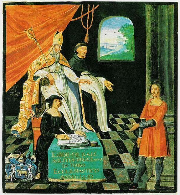 The tribunal of Giles de Rais