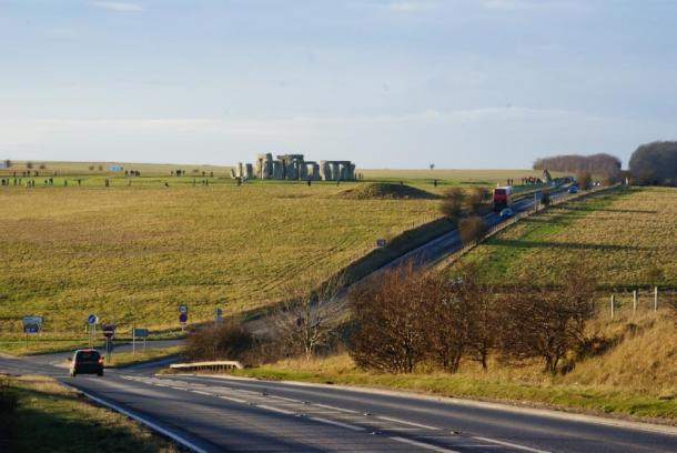 The Stonehenge tunnel is supposed to help traffic in the area. Peter Trimming / CC BY-SA 2.0.