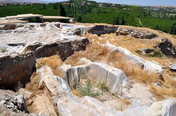 The archaeological site at Arslantepe, Turkey
