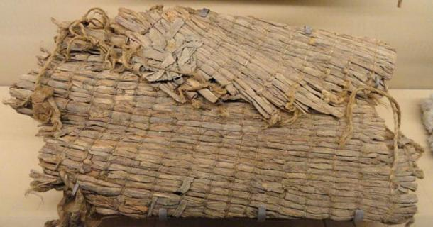 A twined mat (1225-1275 AD) found in Promontory Cave I, Utah