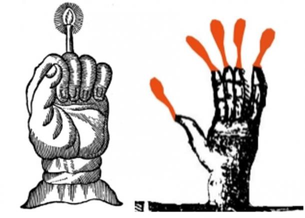 Two ways the Hand of Glory could have been used.