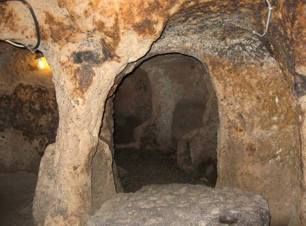An underground house in Cappadocia