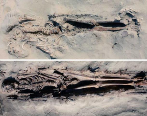 Builders under Pharaoh Akhenaten worked so hard they broke their backs