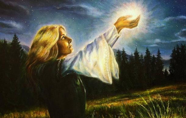 In general, women are more attuned to the spiritual, unseen world