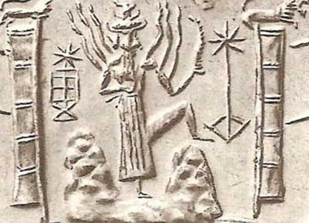 The Sumerian deity, Utu