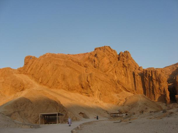 Valley of the Queens near Luxor, Egypt.