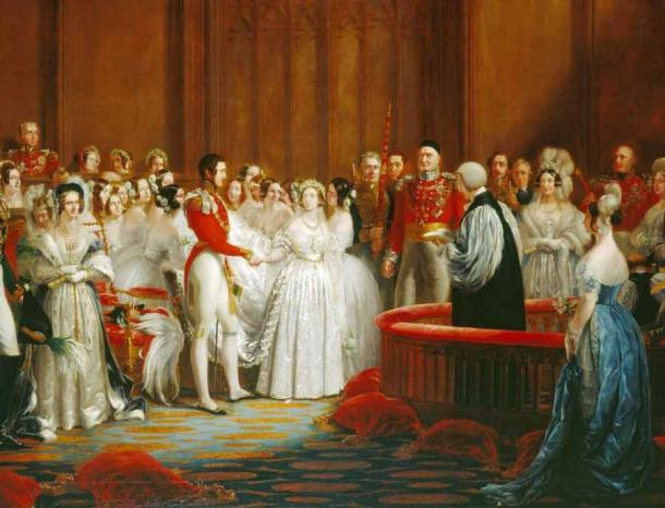 Queen Victoria famously serve a fruitcake at her wedding in 1840. (Public domain)
