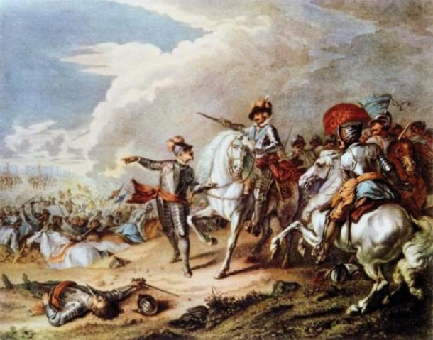 The victory of the Parliamentarian army over the Royalist army at the Battle of Naseby on 14 June 1645 marked the decisive turning point in the English Civil War. (The Illusional Ministry / Public Domain)